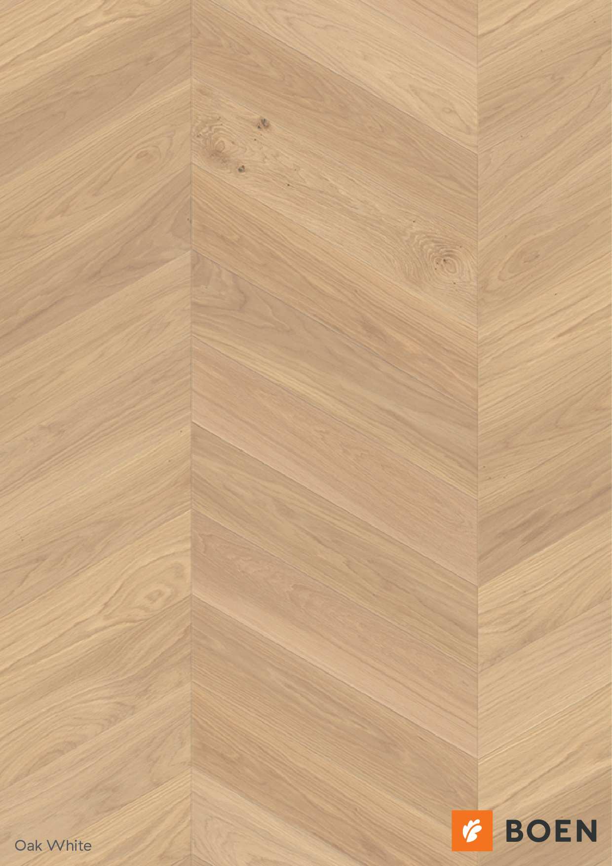 BOEN wood flooring oak chevron